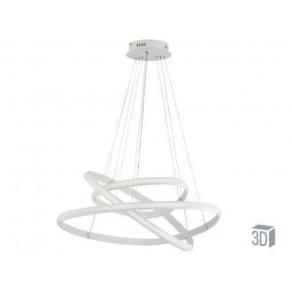 VIOKEF 4202500 | Cozi Viokef visiace svietidlo 1x LED 3600lm 3000K biela