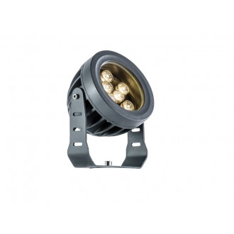 VIOKEF 4205100 | Ermis Viokef svetlomet, zapichovacie svietidlo otočné prvky 9x LED 990lm 3000K IP66 tmavošedá