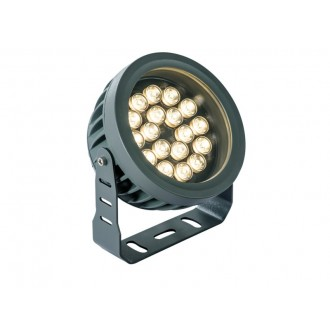 VIOKEF 4205200 | Ermis Viokef svetlomet, zapichovacie svietidlo otočné prvky 18x LED 1980lm 3000K IP66 tmavošedá