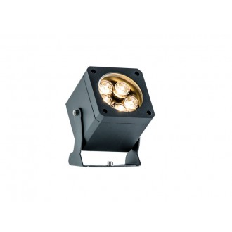 VIOKEF 4205400 | Aris-VI Viokef svetlomet, zapichovacie svietidlo otočné prvky 2x LED 1100lm 3000K IP66 tmavošedá