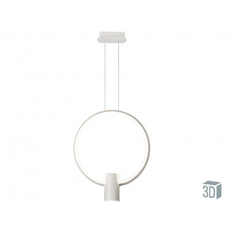 VIOKEF 4205900 | Sindy Viokef visiace svietidlo 1x LED 1980lm + 1x LED 540lm 3000K biela