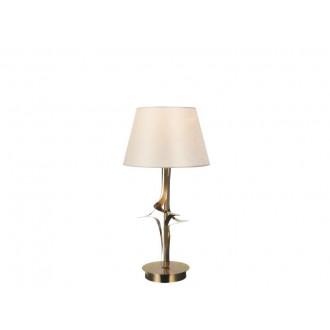 VIOKEF 4210600 | Juliet Viokef stolové svietidlo 45cm 1x E27 zlatý, béž