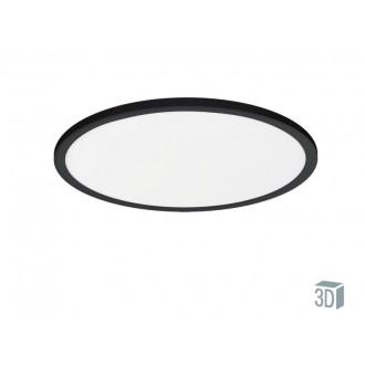 VIOKEF 4213900 | Aida-VI Viokef stropné svietidlo 1x LED 1650lm 3000K čierna, biela