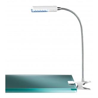 WOFI 290312060000 | FlexW Wofi štipcové svietidlo prepínač flexibilné 1x LED 200lm 3000K biela, chróm