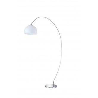 WOFI 308401010000   Sander Wofi stojaté svietidlo 170cm prepínač 1x E27 chróm, biela