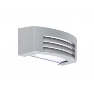 WOFI 4062.01.50.7000 | LimaW Wofi stenové svietidlo 1x E27 IP44 sivé