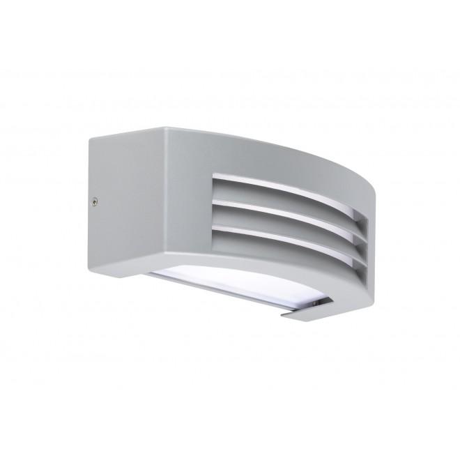 WOFI 4062.01.50.7000   LimaW Wofi stenové svietidlo 1x E27 IP44 sivé
