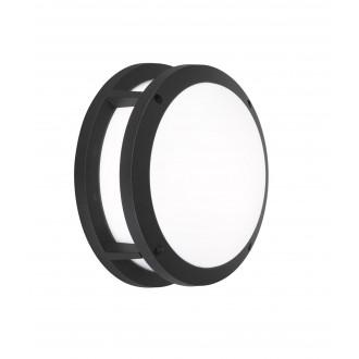 WOFI 4063.02.10.7000 | LaraW Wofi stenové svietidlo 2x E27 IP44 čierna, biela
