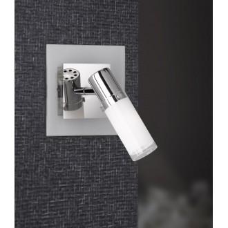 WOFI 4076.01.01.0000 | Marco Wofi stenové svietidlo prepínač 1x E14 chróm, jasná biela