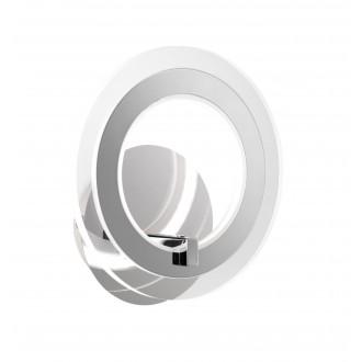 WOFI 4146.01.01.0000 | Noemi Wofi rameno stenové svietidlo prepínač 1x LED 800lm 3000K chróm, priesvitné
