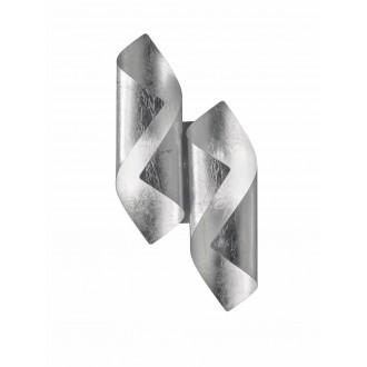 WOFI 4325.02.70.8000 | Safira-WO Wofi stenové svietidlo 2x LED 400lm 3000K strieborný