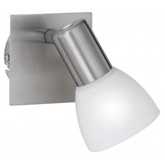 WOFI 4354.01.64.0000 | Angola Wofi stenové svietidlo prepínač navrhované na úsporné žiarovky 1x E14 matný nikel