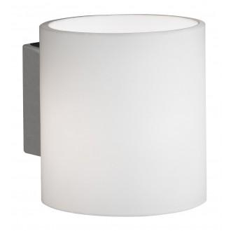 WOFI 4451.01.64.0000 | Aqaba Wofi stenové svietidlo prepínač na vedení 1x G9 matný nikel