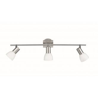 WOFI 7354.03.64.0000 | Angola Wofi stenové, stropné svietidlo navrhované na úsporné žiarovky 3x E14 matný nikel