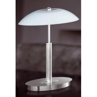 WOFI 8041.02.64.0010 | MaximeW Wofi stolové svietidlo 33cm dotykový prepínač s reguláciou svetla regulovateľná intenzita svetla 2x G9 920lm 2700K matný nikel