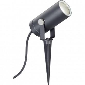 WOFI 8056.01.10.7000 | FaroW Wofi zapichovacie svietidlo otáčateľný svetelný zdroj 1x GU10 IP44 čierna