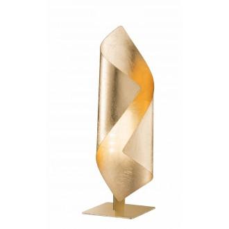 WOFI 8325.01.15.8000 | Safira-WO Wofi stolové svietidlo 33cm prepínač 1x LED 200lm 3000K zlatý
