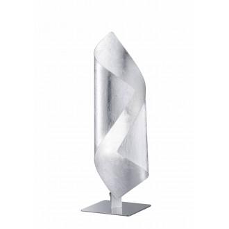WOFI 8325.01.70.8000 | Safira-WO Wofi stolové svietidlo 33cm prepínač 1x LED 200lm 3000K strieborný