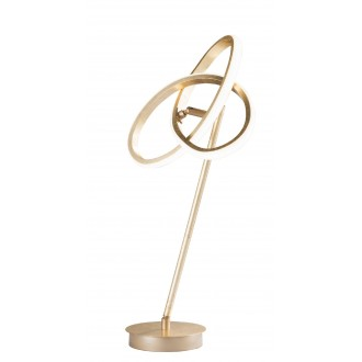 WOFI 8410.01.15.8000 | Eliot-WO Wofi stolové svietidlo 50cm prepínač otočné prvky 1x LED 1100lm 3000K zlatý