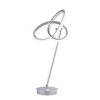 WOFI 8410.01.70.8000 | Eliot-WO Wofi stolové svietidlo 50cm prepínač otočné prvky 1x LED 1100lm 3000K strieborný