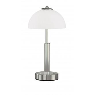 WOFI 8865.02.64.0000 | PopW Wofi stolové svietidlo 38cm dotykový prepínač s reguláciou svetla regulovateľná intenzita svetla 2x E14 matný nikel