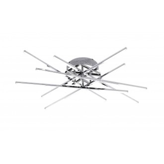 WOFI 9018.12.01.5000 | Forte Wofi stropné svietidlo 12x LED 2100lm 3000K chróm, biela