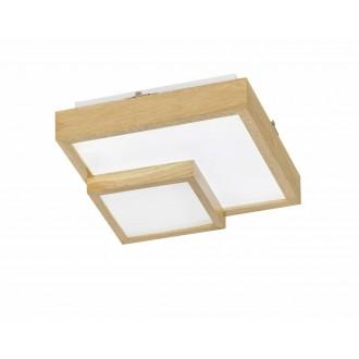 WOFI 9042.01.51.8000 | Hudson-WO Wofi stropné svietidlo 1x LED 1700lm 3000K drevo