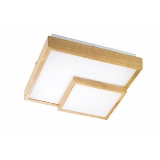 WOFI 9042.01.51.8100 | Hudson-WO Wofi stropné svietidlo 1x LED 2600lm 3000K drevo