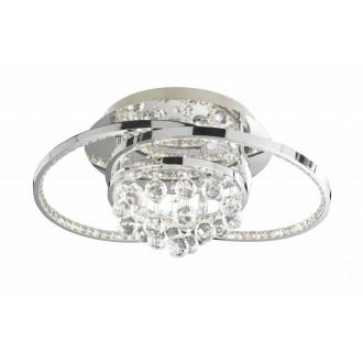 WOFI 9103.01.01.8460 | Medley Wofi stropné svietidlo impulzový prepínač regulovateľná intenzita svetla 1x LED 3100lm 3000K chróm