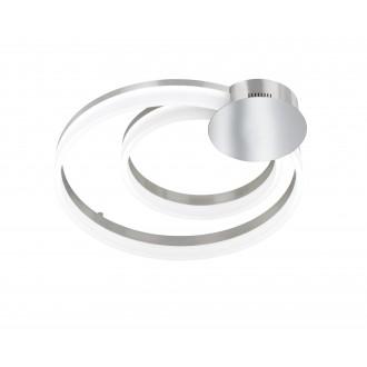 WOFI 9117.01.54.0000 | Indigo-Soul Wofi stropné svietidlo regulovateľná intenzita svetla 1x LED 4200lm 3000K matný nikel, biela