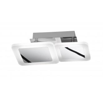 WOFI 9157.02.01.6000 | Impuls Wofi stropné svietidlo otočné prvky 1x LED 1200lm 3000K chróm, biela