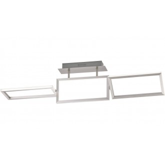 WOFI 9159.01.63.8100 | Skip Wofi stropné svietidlo otočné prvky 1x LED 2500lm 3000K leštený hliník