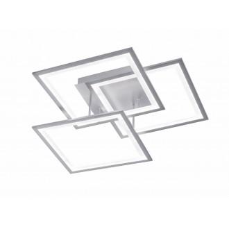 WOFI 9243.03.70.8400   Modesto-WO Wofi stropné svietidlo impulzový prepínač regulovateľná intenzita svetla 1x LED 3000lm 3000K strieborný