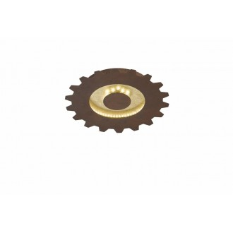 WOFI 9301.02.15.8300   Leif-WO Wofi stenové, stropné svietidlo 1x LED 1150lm 3000K zlatý
