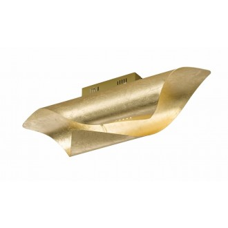 WOFI 9325.01.15.8000 | Safira-WO Wofi stenové, stropné svietidlo 1x LED 1750lm 3000K zlatý