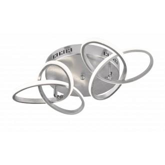 WOFI 9410.02.70.8000 | Eliot-WO Wofi stropné svietidlo otočné prvky 2x LED 2200lm 3000K strieborný