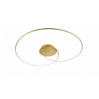 WOFI 9422.01.15.8900 | Opus Wofi stropné svietidlo regulovateľná intenzita svetla 1x LED 3200lm 3000K zlatý