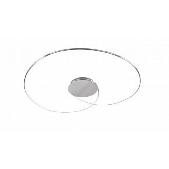WOFI 9422.01.63.8450 | Opus Wofi stropné svietidlo regulovateľná intenzita svetla 1x LED 1300lm 3000K leštený hliník