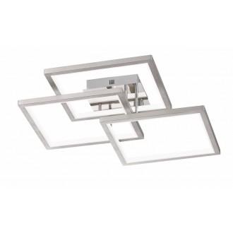 WOFI 9531.03.64.8400 | Viso Wofi stropné svietidlo impulzový prepínač regulovateľná intenzita svetla 1x LED 6200lm 3000K matný nikel