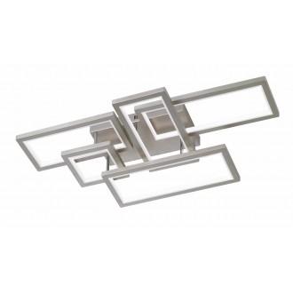 WOFI 9531.05.64.8000 | Viso Wofi stropné svietidlo impulzový prepínač regulovateľná intenzita svetla 1x LED 7000lm 3000K matný nikel