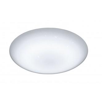 WOFI 9545.01.06.0044 | Ceres Wofi stropné svietidlo diaľkový ovládač regulovateľná intenzita svetla, nastaviteľná farebná teplota 1x LED 3000lm 2800 <-> 5700K IP23 biela