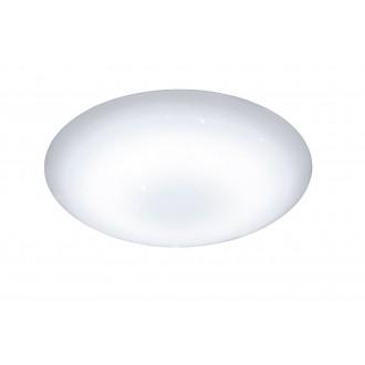 WOFI 955501066000 | Minor Wofi stropné svietidlo kruhový diaľkový ovládač regulovateľná intenzita svetla, nastaviteľná farebná teplota 1x LED 2500lm 2800 <-> 6000K biela, kryštálový efekt