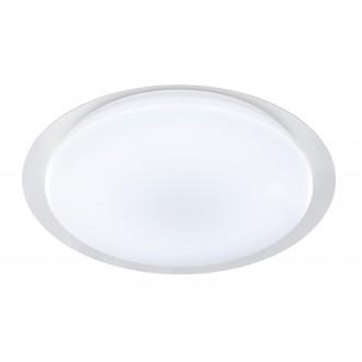 WOFI 9662.01.06.0680 | JadenW Wofi stropné svietidlo diaľkový ovládač regulovateľná intenzita svetla, nastaviteľná farebná teplota 1x LED 4000lm 2800 <-> 6000K biela, priesvitné