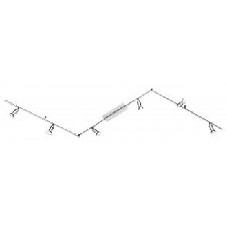 WOFI 9669.06.64.0000 | Nini Wofi stenové, stropné svietidlo otočné prvky 6x GU10 1500lm 3000K matný nikel