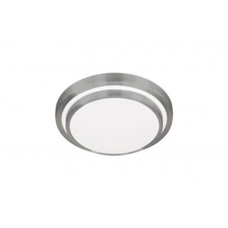 WOFI 9670.01.63.3344 | OsloW Wofi stropné svietidlo 1x LED 1600lm 3000K leštený hliník, biela