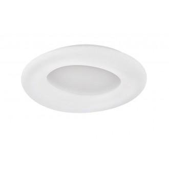 WOFI 9935.01.06.8910 | County-WO Wofi stropné svietidlo diaľkový ovládač regulovateľná intenzita svetla, nastaviteľná farebná teplota 1x LED 8800lm 3000 <-> 6800K biela