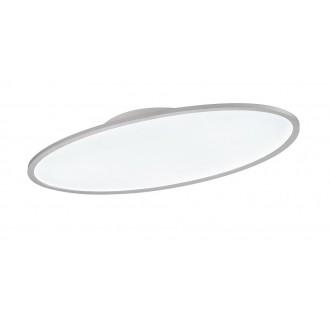 WOFI 9970.01.06.8100 | Valley Wofi stropné svietidlo diaľkový ovládač regulovateľná intenzita svetla, nastaviteľná farebná teplota 1x LED 3450lm 3000 <-> 6800K biela